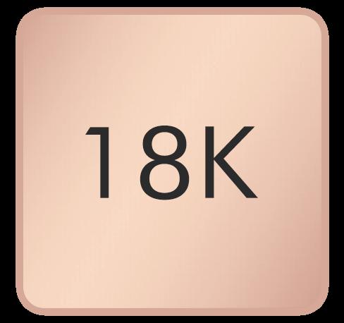 18K Rose Gold