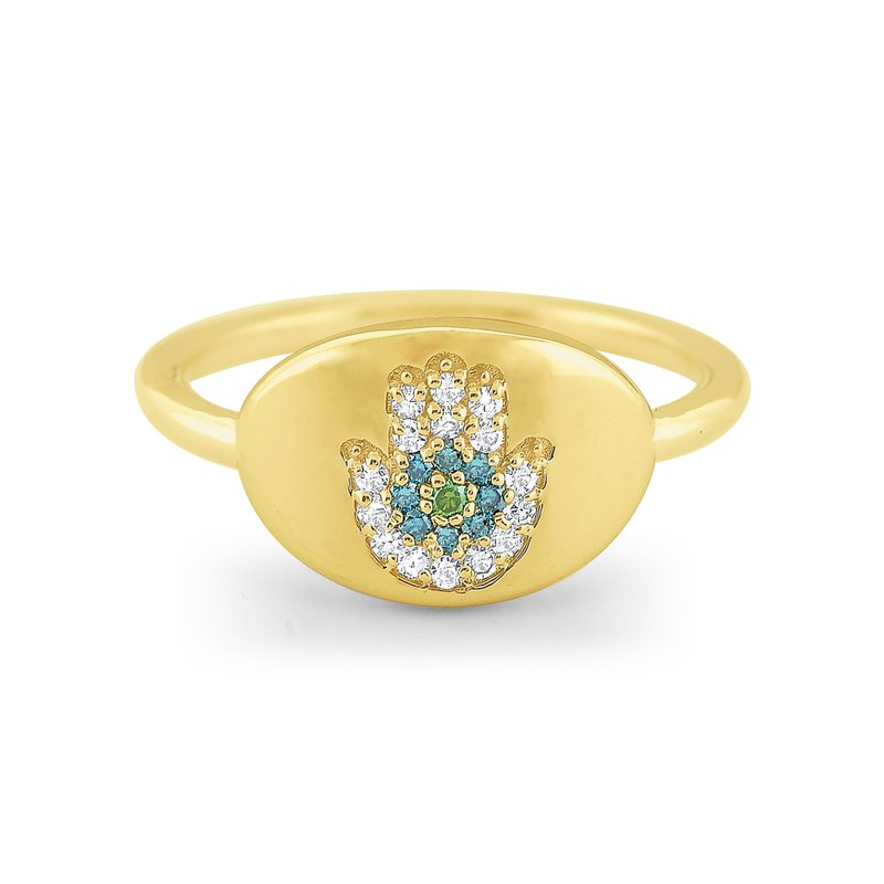 14k-gold-and-multi-color-diamond-signet-ring-R8972
