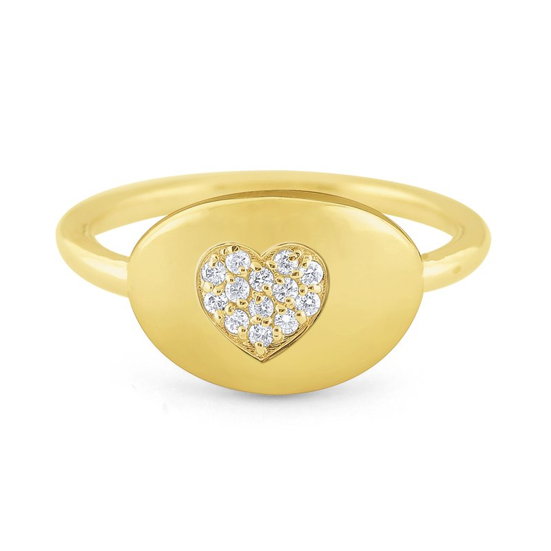 14k-gold-and-diamond-heart-signet-ring-R9697
