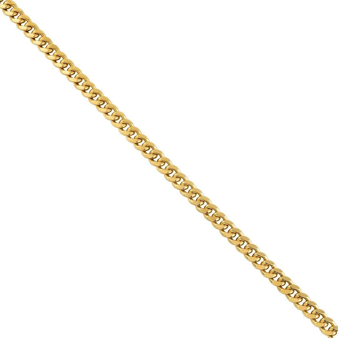 Yellow-10k-Solid-Gold-Cuban-Link-Chain-6-mm-18-0-inches---44-3-grams