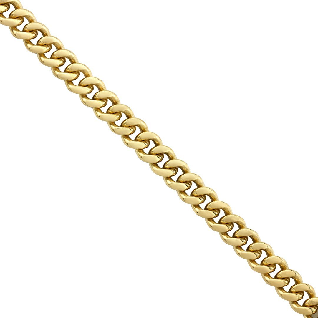 Mens-Cuban-Link-Chain-in-14k-Yellow-Solid-Gold-4-mm-18-0-inches---24-0-grams