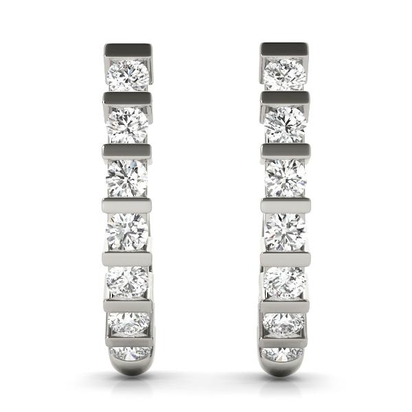 14k-white-gold-hoop-diamond-earring-40009-A