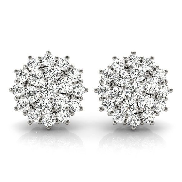 14k-white-gold-halo-diamond-earring-40086-A