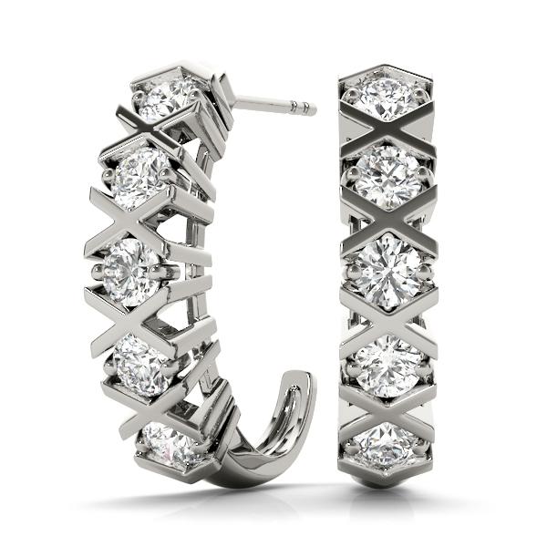 14k-white-gold-hoop-diamond-earring-40108-A