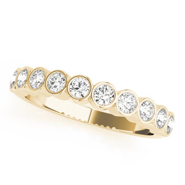 18k-yellow-gold-bezel-set-diamond-wedding-ring-50352-W-2