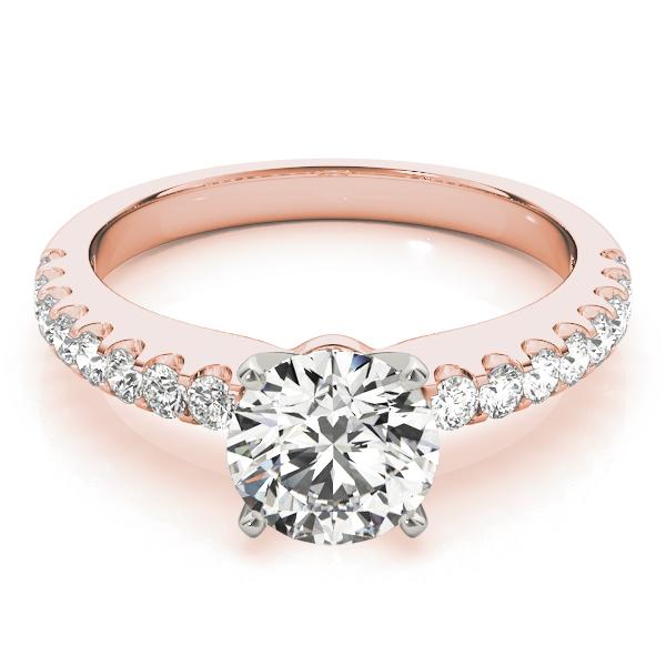 18k-rose-gold-single-row-diamond-engagement-ring-50355-E-2