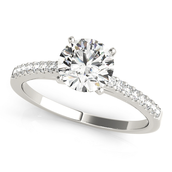 14k-white-gold-single-row-diamond-engagement-ring-50367-E-1