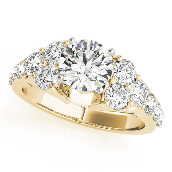14k-yellow-gold-cluster-diamond-engagement-ring-50377-E-A