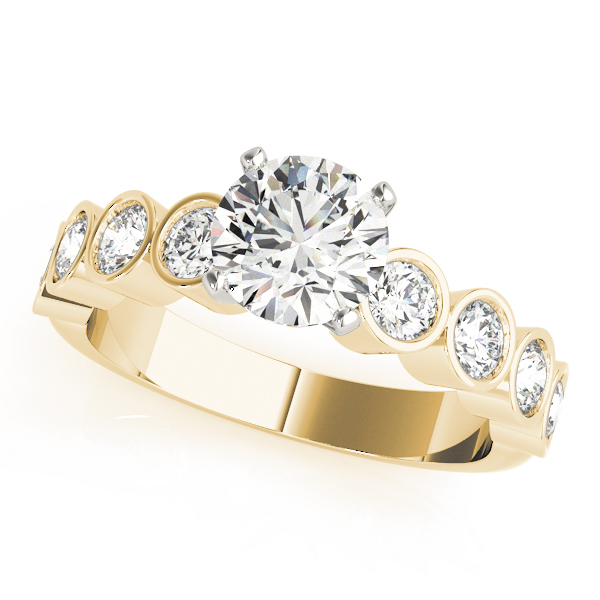 14k-yellow-gold-single-row-diamond-engagement-ring-50387-E-A
