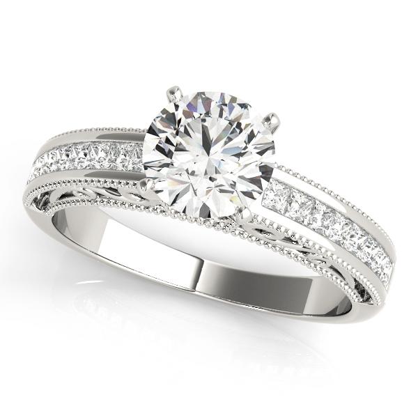14k-white-gold-vintage-diamond-engagement-ring-50390-E-A