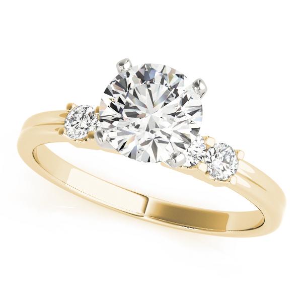 14k-yellow-gold-single-row-diamond-engagement-ring-50391-E-10