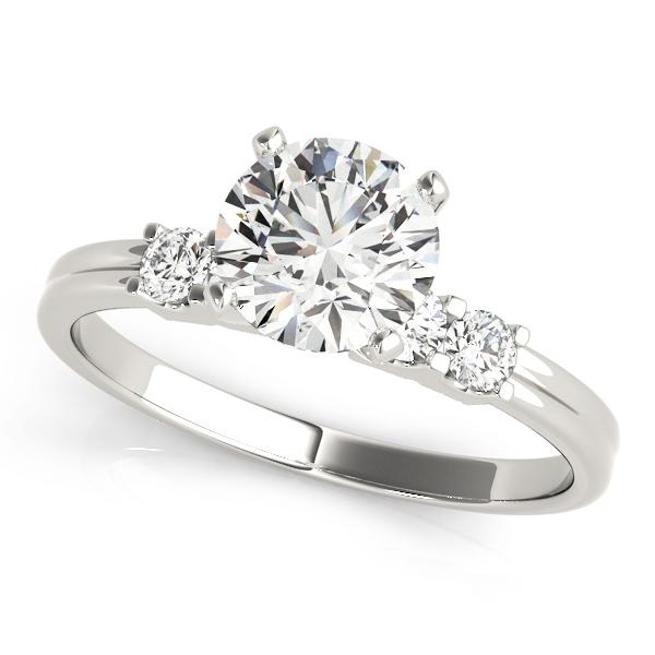 14k-white-gold-single-row-diamond-engagement-ring-50391-E-10