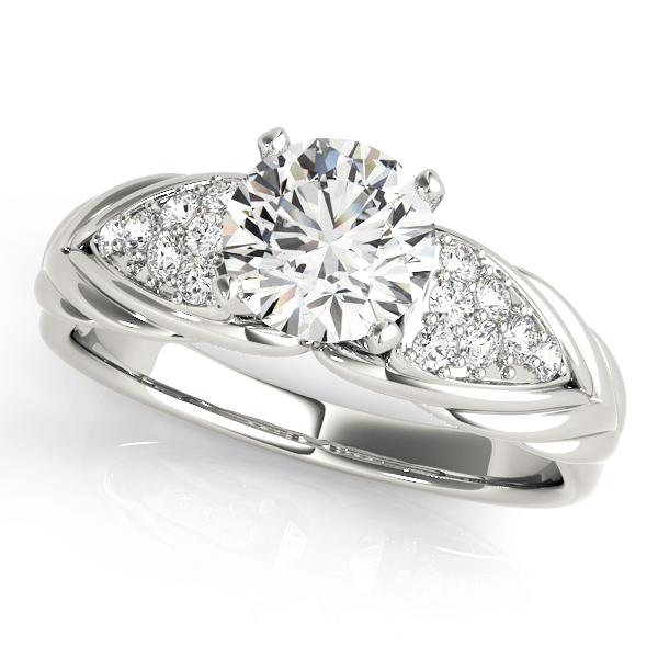 14k-white-gold-side-stone-round-shape-diamond-engagement-ring-50654-E-14K-White-Gold