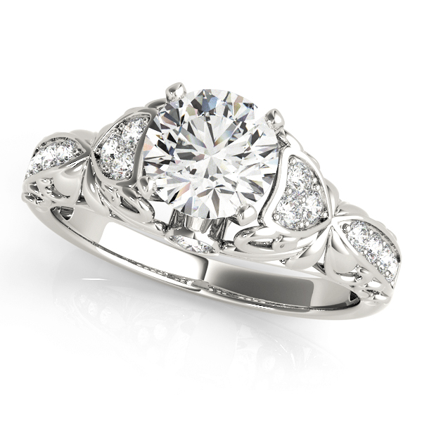 14k-white-gold-side-stone-round-shape-diamond-engagement-ring-50784-E-14K-White-Gold