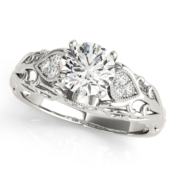 14k-white-gold-side-stone-round-shape-diamond-engagement-ring-50794-E-14K-White-Gold