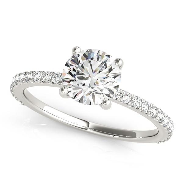 14k-white-gold-single-row-round-shape-diamond-engagement-ring-51102-E-1-14K-White-Gold