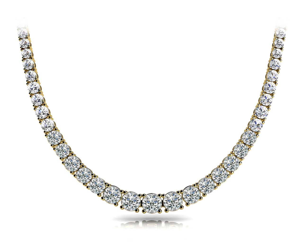 14k-yellow-gold-eternity-diamond-necklace-60019-20