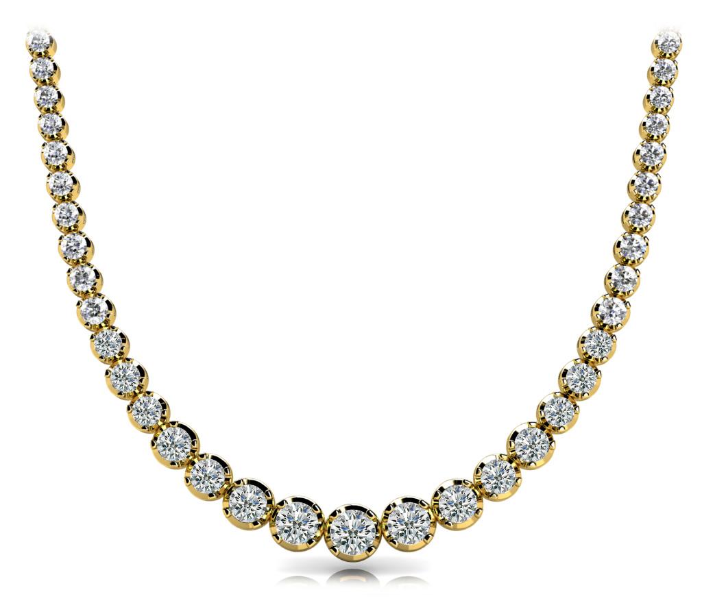 14k-yellow-gold-eternity-diamond-necklace-60022-8