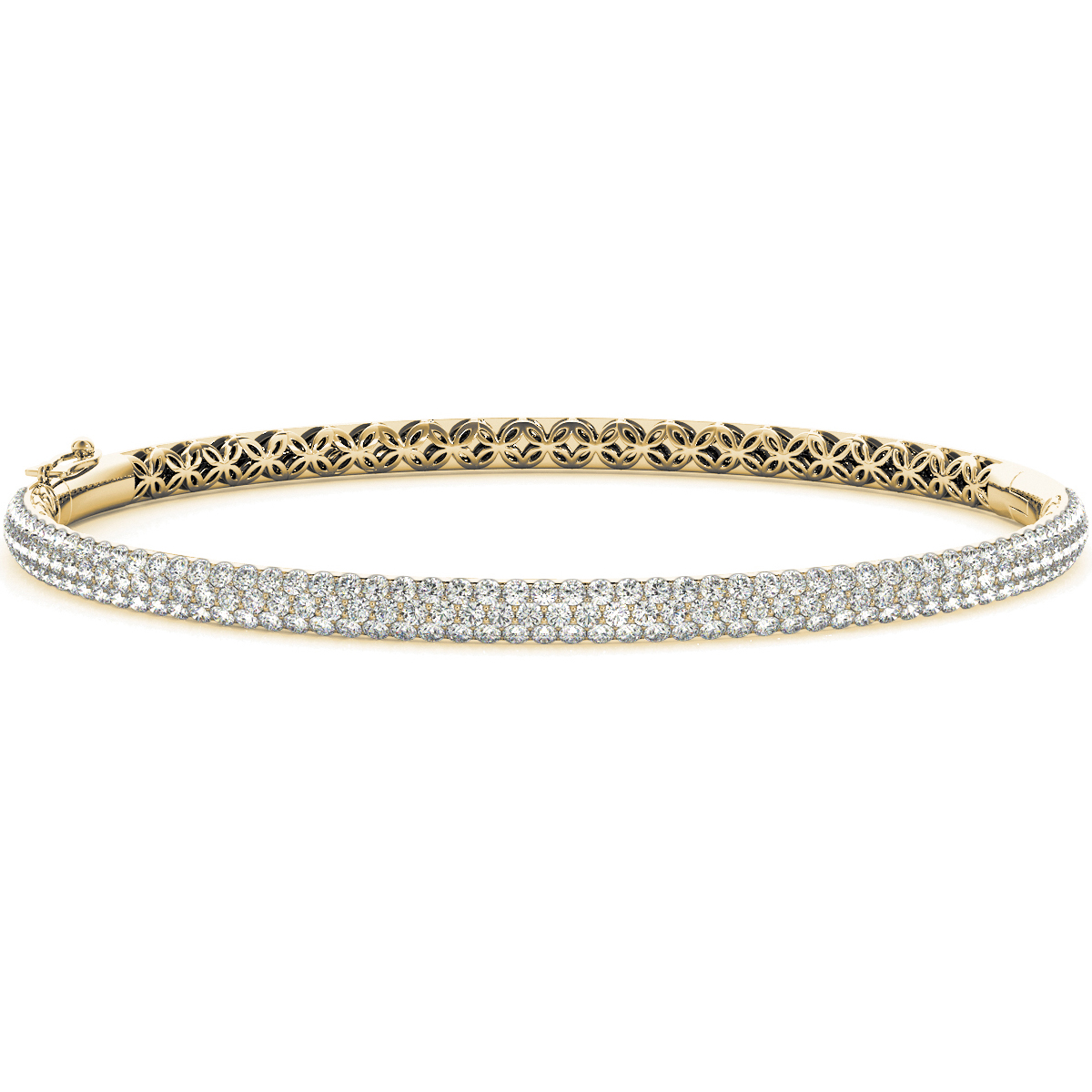 14k-yellow-gold-multi-row-bangles-and-bracelet-70011