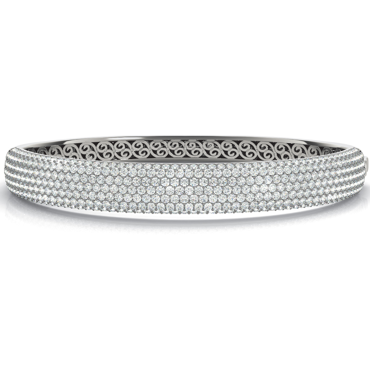 14k-white-gold-multi-row-bangles-and-bracelet-70012