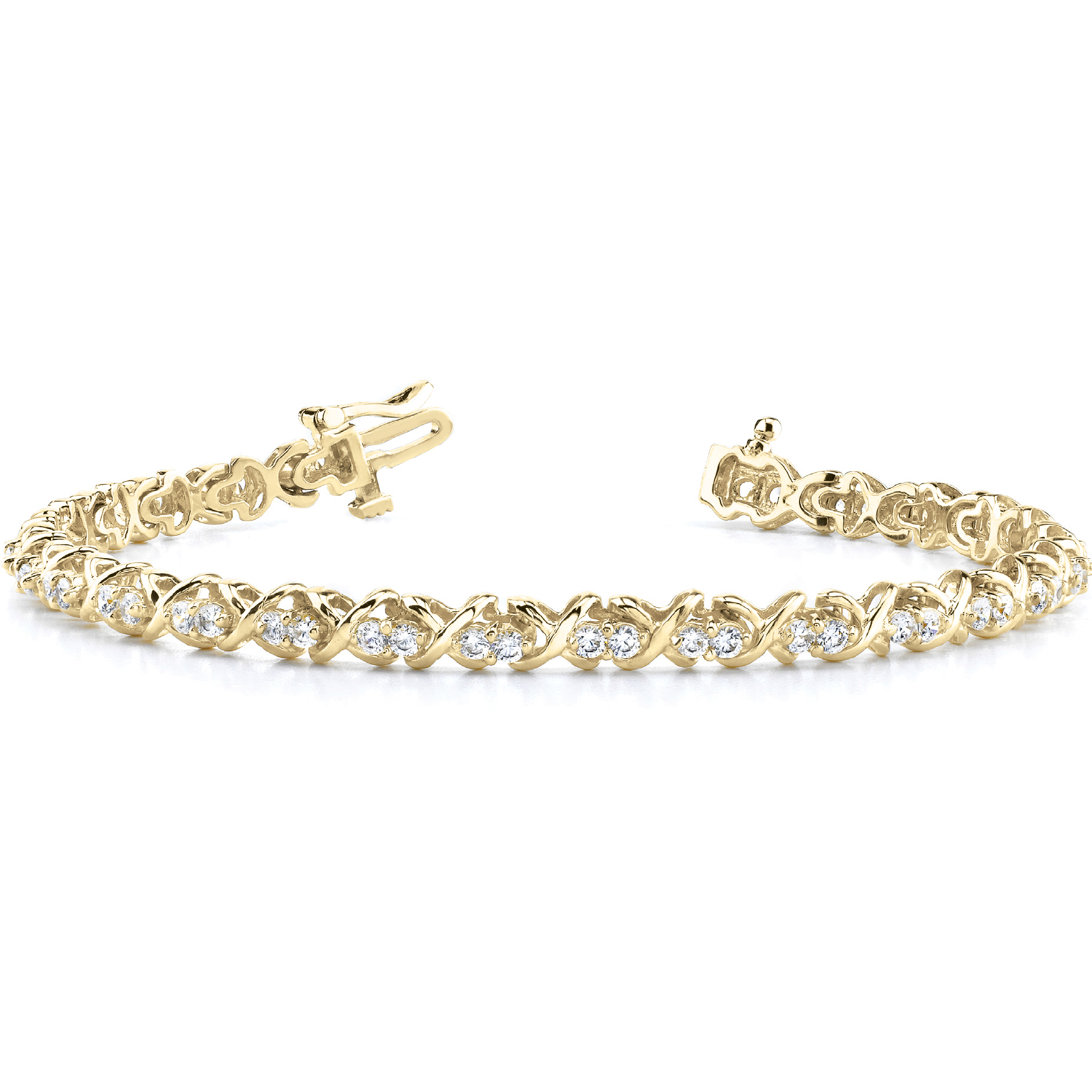 14k-yellow-gold-xo-tennis-diamond-bracelet-4485-01-25