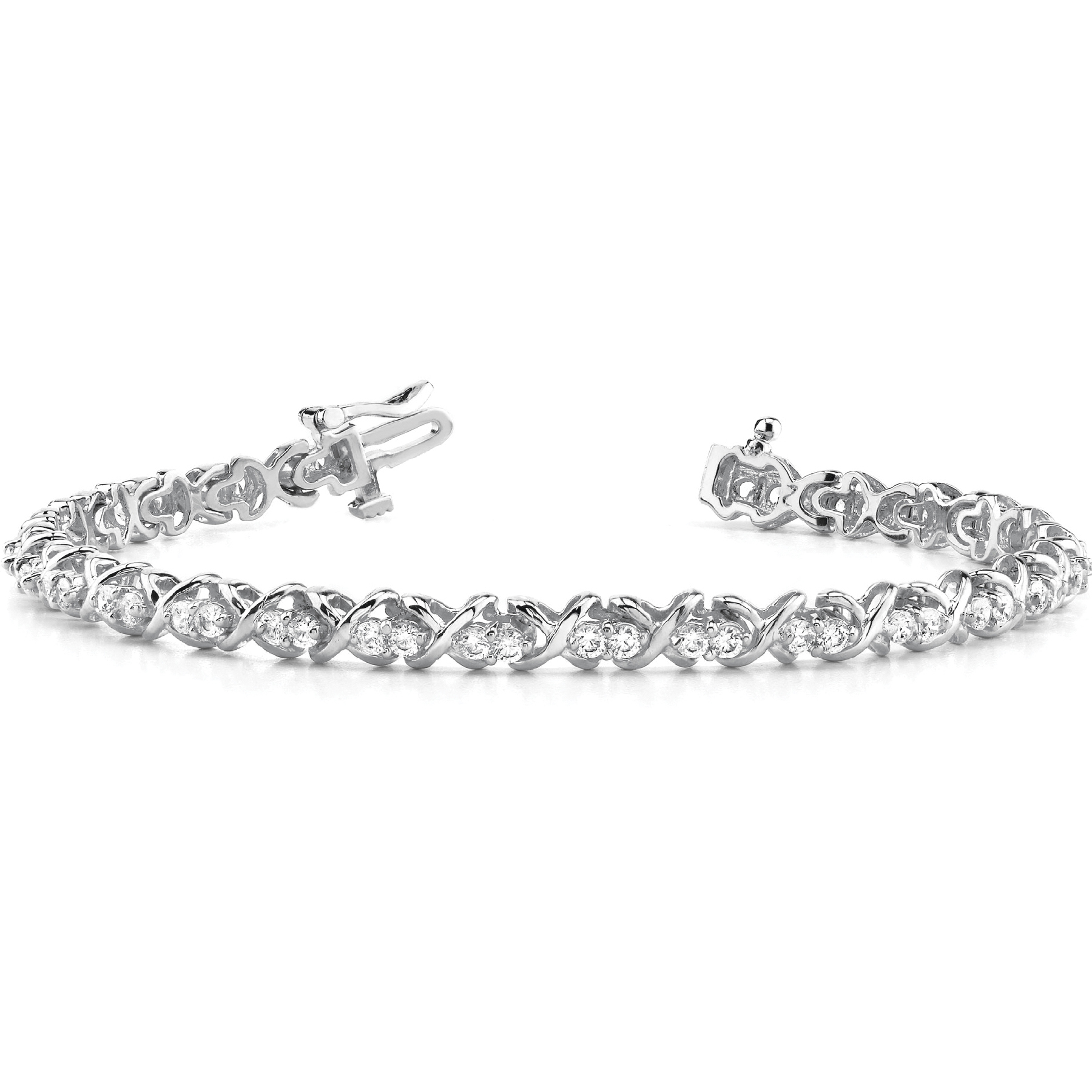 18k-white-gold-xo-tennis-diamond-bracelet-4485-01-25