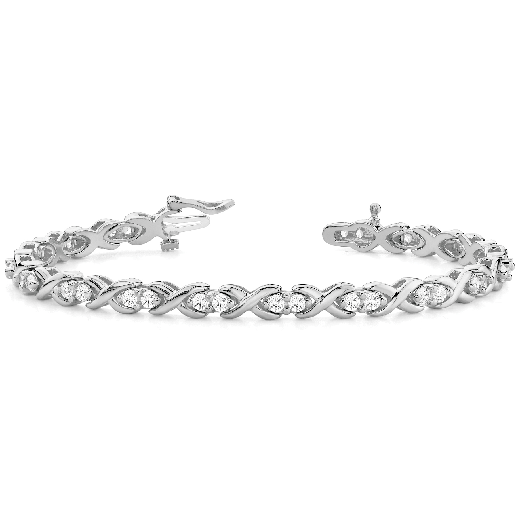 14k-white-gold-xo-tennis-diamond-bracelet-70045-1-75
