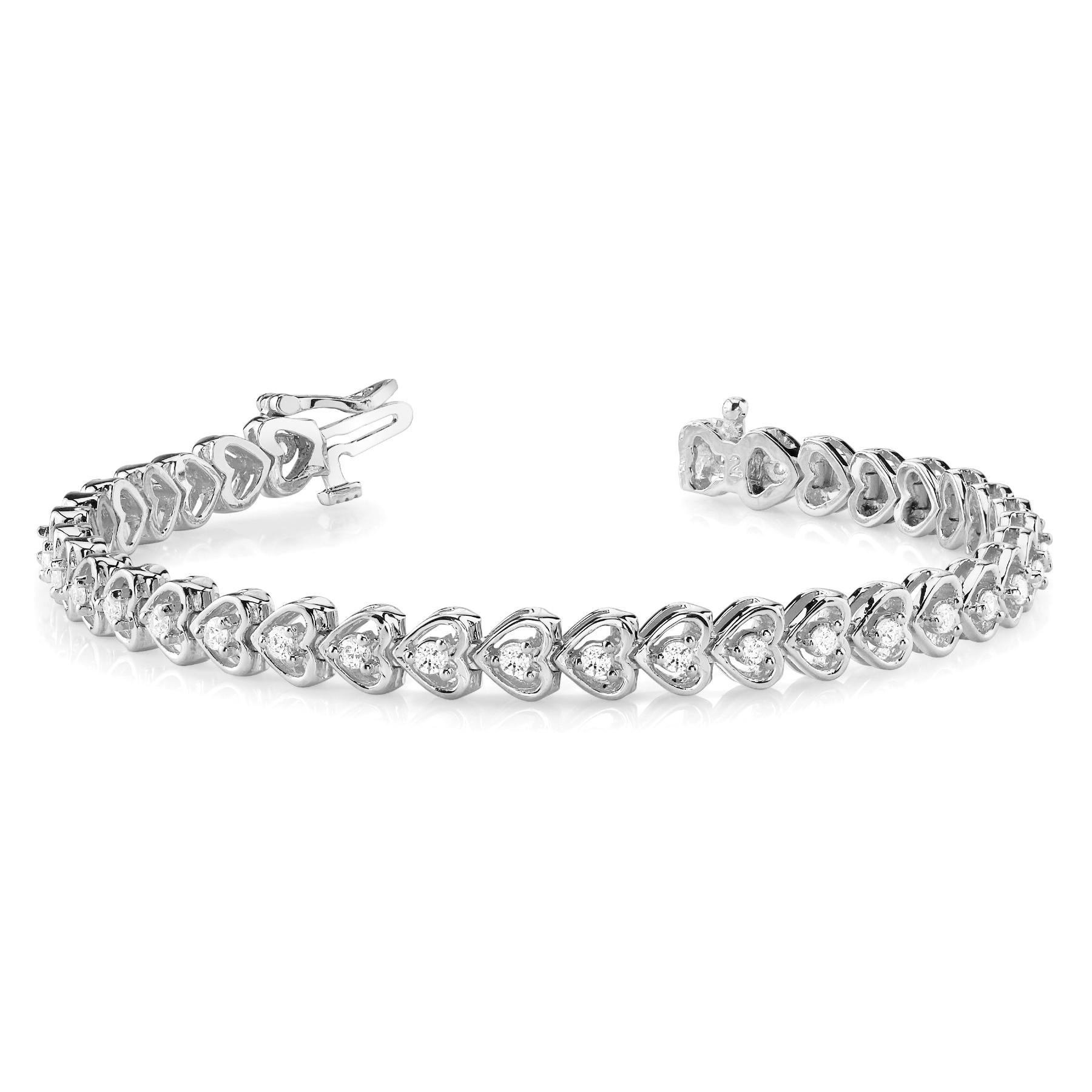 14k-white-gold-heart-tennis-diamond-bracelet-70046--75