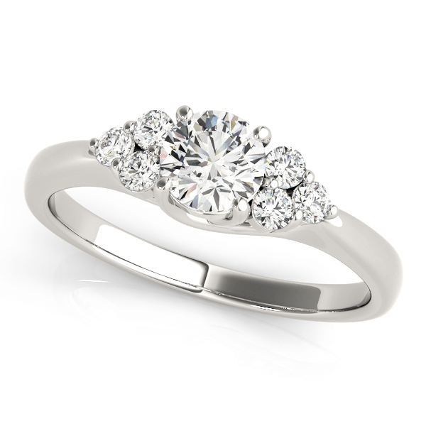 14k-white-gold-side-stone-round-shape-diamond-engagement-ring-82600-A-14K-White-Gold