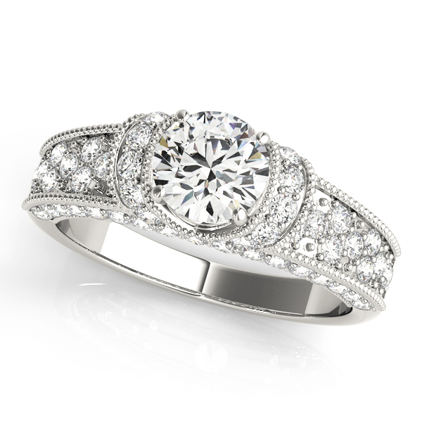 14k-white-gold-pave-round-shape-diamond-engagement-ring-82823-A-14K-White-Gold