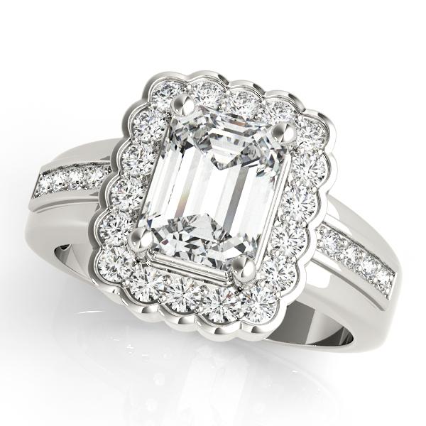 platinum-halo-emerald-shape-diamond-engagement-ring-82907-7X5-Platinum