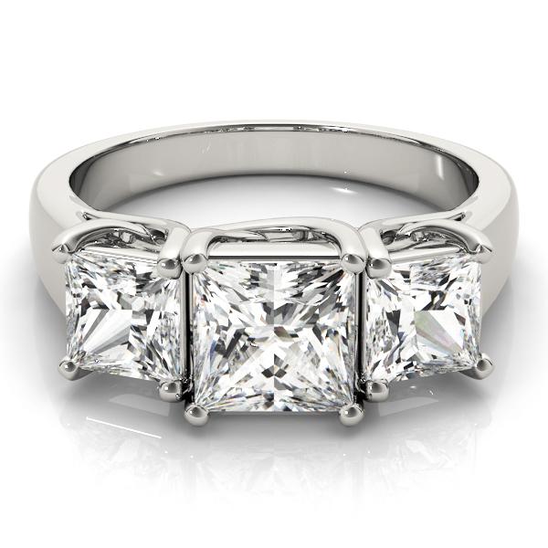 18k-white-gold-three-stone-princess-shape-diamond-engagement-ring-83478-2-18K-White-Gold