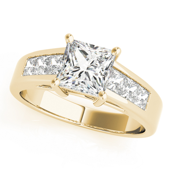18k-yellow-gold-pave-princess-shape-diamond-engagement-ring-83606-18K-Yellow-Gold