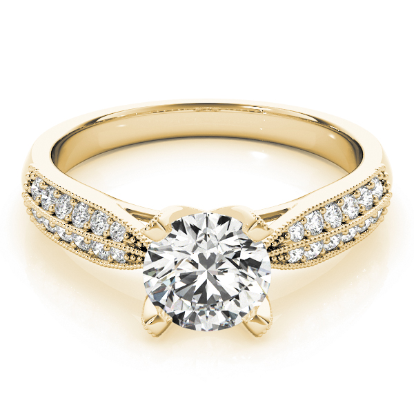18k-yellow-gold-pave-round-shape-diamond-engagement-ring-83735-18K-Yellow-Gold