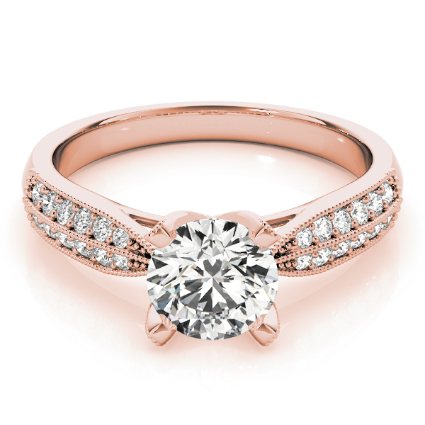 18k-rose-gold-pave-round-shape-diamond-engagement-ring-83735-18K-Rose-Gold