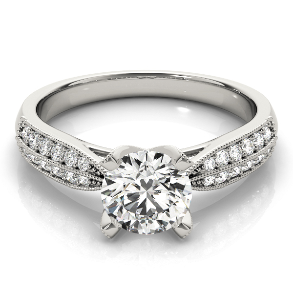18k-white-gold-pave-round-shape-diamond-engagement-ring-83735-18K-White-Gold