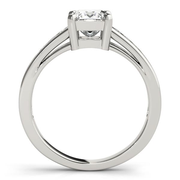 14k-white-gold-single-row-princess-shape-diamond-engagement-ring-83754-14K-White-Gold
