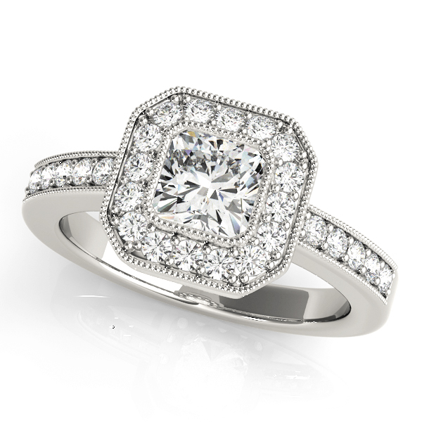 14k-white-gold-halo-cushion-shape-diamond-engagement-ring-83755-14K-White-Gold