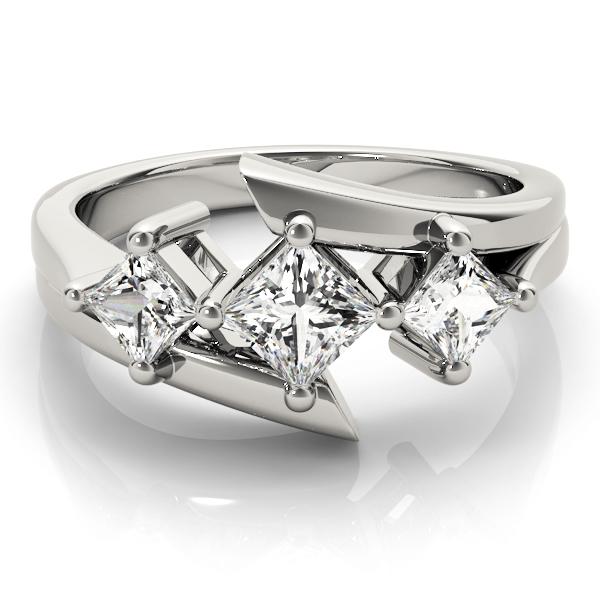 14k-white-gold-three-stone-princess-shape-diamond-engagement-ring-83817-14K-White-Gold