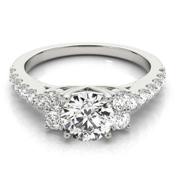 14k-white-gold-side-stone-round-shape-diamond-engagement-ring-83863-14K-White-Gold