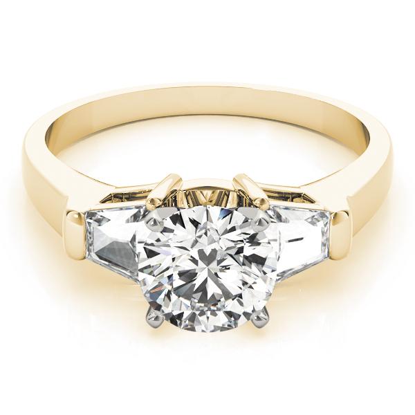 14k-yellow-gold-three-stone-diamond-engagement-ring-84111-B