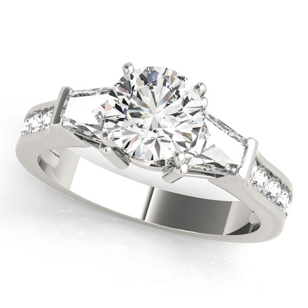 14k-white-gold-pave-round-shape-diamond-engagement-ring-84115-14K-White-Gold