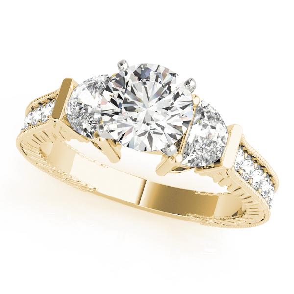 18k-yellow-gold-vintage-round-shape-diamond-engagement-ring-84116-18K-Yellow-Gold