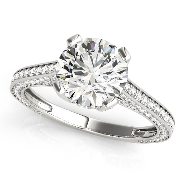 14k-white-gold-vintage-round-shape-diamond-engagement-ring-84141-14K-White-Gold