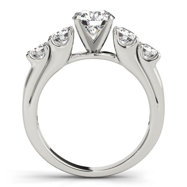 14k-white-gold-single-row-round-shape-diamond-engagement-ring-84181-14K-White-Gold