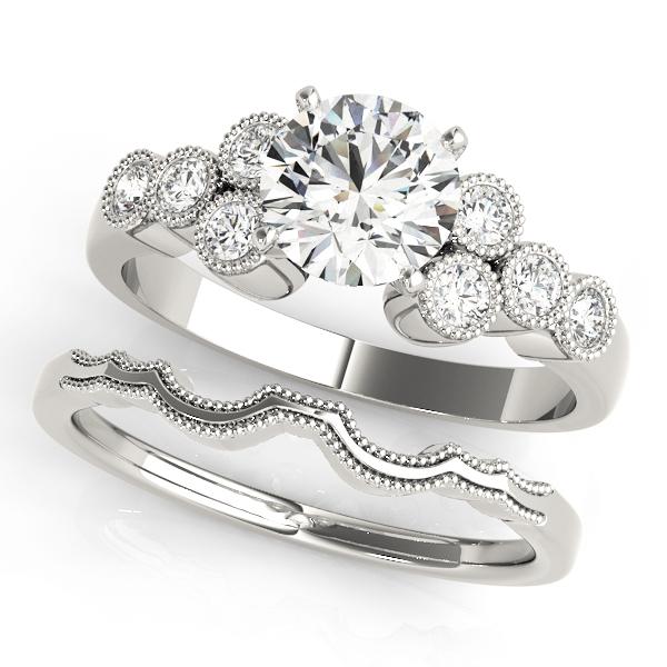 14k-white-gold-side-stone-round-shape-diamond-engagement-ring-84256-14K-White-Gold