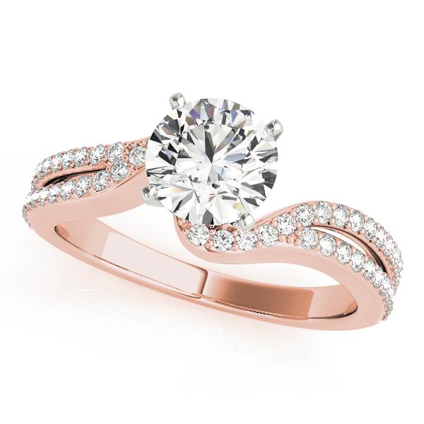 14k-rose-gold-multirow-round-shape-diamond-engagement-ring-84262-14K-Rose-Gold