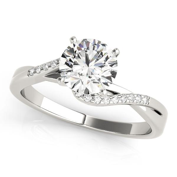 14k-white-gold-bypass-round-shape-diamond-engagement-ring-84263-14K-White-Gold