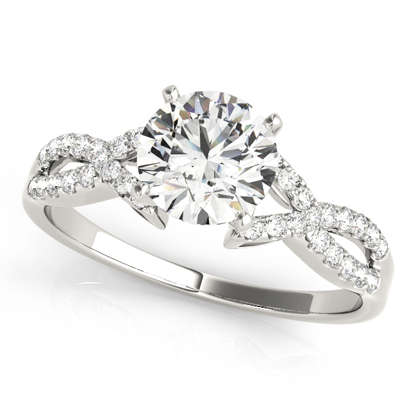 14k-white-gold-multirow-round-shape-diamond-engagement-ring-84267-14K-White-Gold