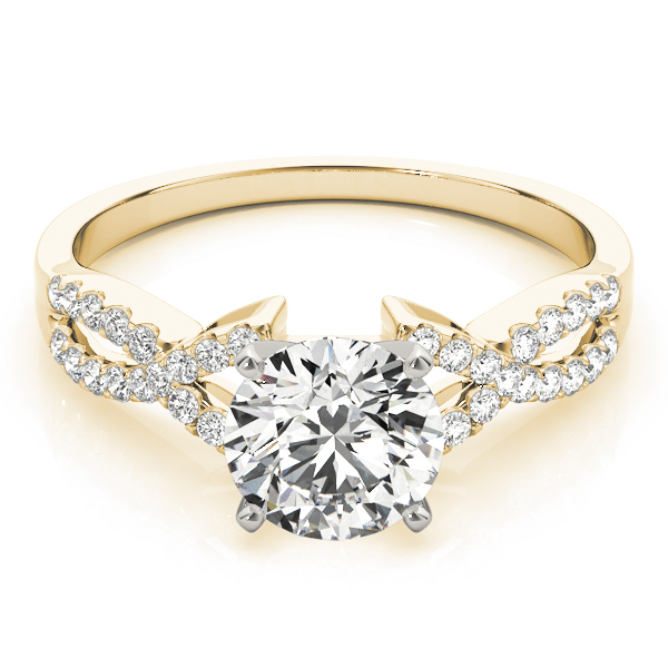 14k-yellow-gold-multirow-round-shape-diamond-engagement-ring-84267-14K-Yellow-Gold